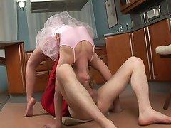 káma-szútra szex egy balerina