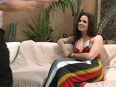 Bobbi Starr enjoys sex and some foot fun