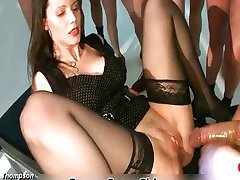 Nasty German slut gets fucked rough