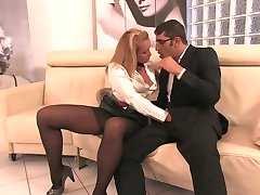 COLLANTS NOIRS GLAMOUR