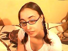 Amatør med briller