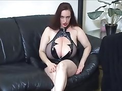 Goth riesige Titten JOI