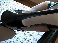 Milf Füße in sexy highheels