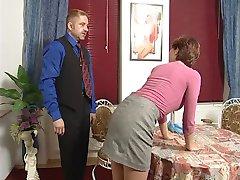 גרמנית נוער העוזרת עונש מקל