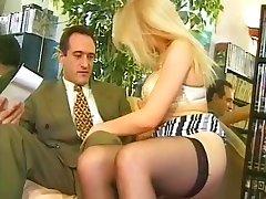 Blond francoski in šef