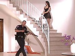 Katsuni Fucking With Police Officer