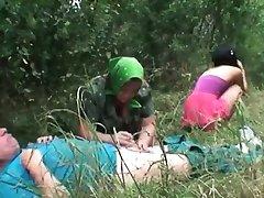 गंदा लड़की हो जाता है सींग का बना हुआ परिपक्व युगल