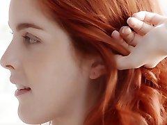 الأحمر شعر N15