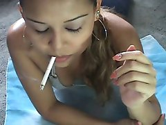 Smoking webcam 8