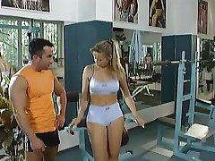 Trening gorąca siłownia FG09