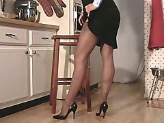 Mihelle's kitchen fuck