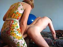 Femme Maitresse Strapon son slave waw