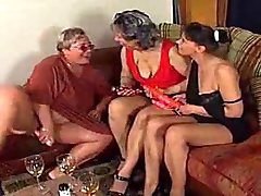 3 ugly women playing