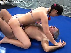 Scissor Queen Goes On - mixed wrestling