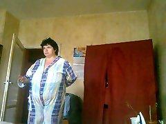 BBW Vanya after bath