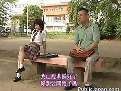 Aasian malli on kuuma julkista seksiä part2