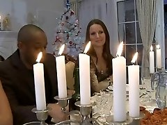 Hardcore Orgie Christmas dinner