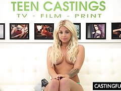 Fuck Casting For Teen Madelyn Monroe