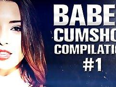 Babes Cumshot Compilation 1