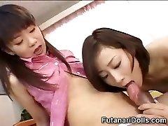 Young Futanari Babysitters!