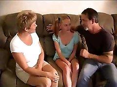 Hot Reifen Swinger-Bang Junge Babysitter