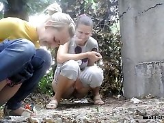 urinating in nature 10129