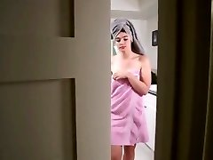 Not Stepsister Bathroom Handjob