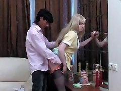 Blond Crossdresser