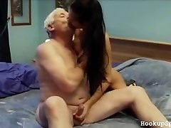 Old Stud Bones A Cock-squeezing Body Chick