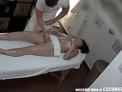 Busty MILF Gets Pummeled during Massage