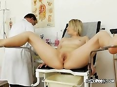 Doctor Peaks Deep Inside Graces Slit