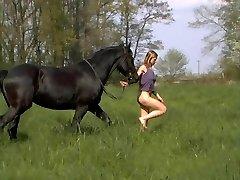 Katharina Rides Nude