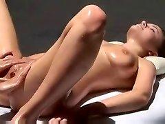 Multi Orgasmic Erotic Massage with oil.