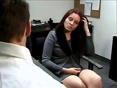 4 Eyed Geek Casey Gets Fucked At The Office
