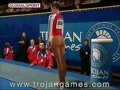 Funny Orgy Gymnastics Vault