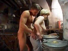German Granny fucked rock-hard