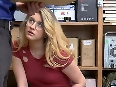 ShopLyfter - Red-hot Blond Gets Caught Stealing And Need To Fuck The Officer