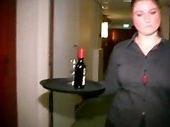 Chubby Dutch Motel Maid