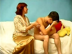 Russian Mother Catches a Boy Wanking WF