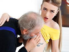 Empera in Senior Man Fucks A Fresh Babe - Elder-n-Young