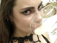 Premium Bukkake - cum shot swallow compilation and emotional girls reactions