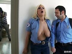 Massive Tits In Uniform: Emergency Call
