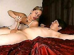 Madeline Throttling Her Slave