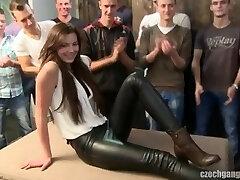 Czech Gang-fuck 18 Katerina