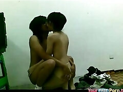 Black background and a blowjob