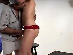 Unshaved Daddy Fucks His Model - Str8