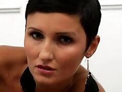Really Miss Czech Gabrielle Gucci Sensual Stockings!