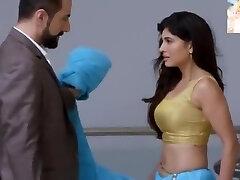 Very Sexy Blue Saari Eliminating n Kissing Very Very Romantic Sexy