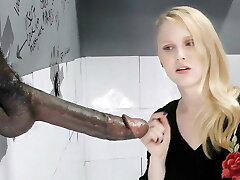Lily Rader Sucks And Tears Up Big Black Dick - Gloryhole