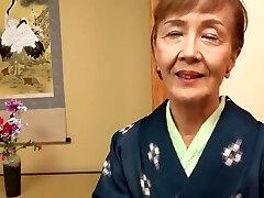 Japanese 70years old granny ravaged